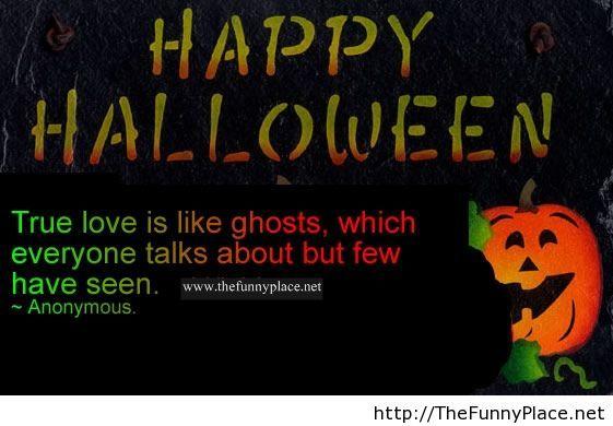 Funny halloween quote