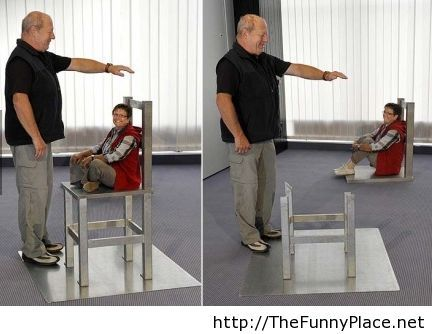 Funny perspective trick