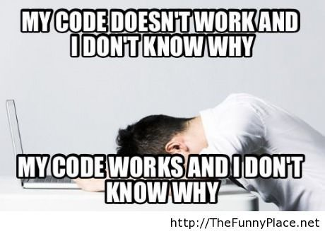 Funny programmers moments