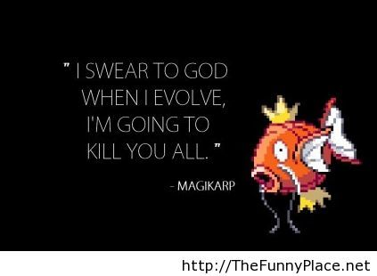 Funny quote from our loveable fish thefunnyplace for Funny fish sayings