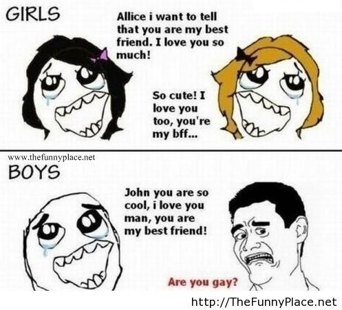 Girls vs boys funny quotes – TheFunnyPlace