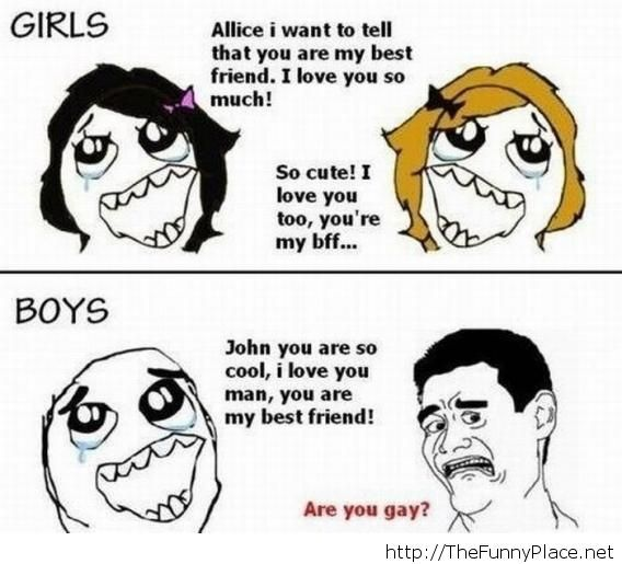 Girls vs boys funny