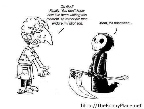 Halloween 2013 funny comics