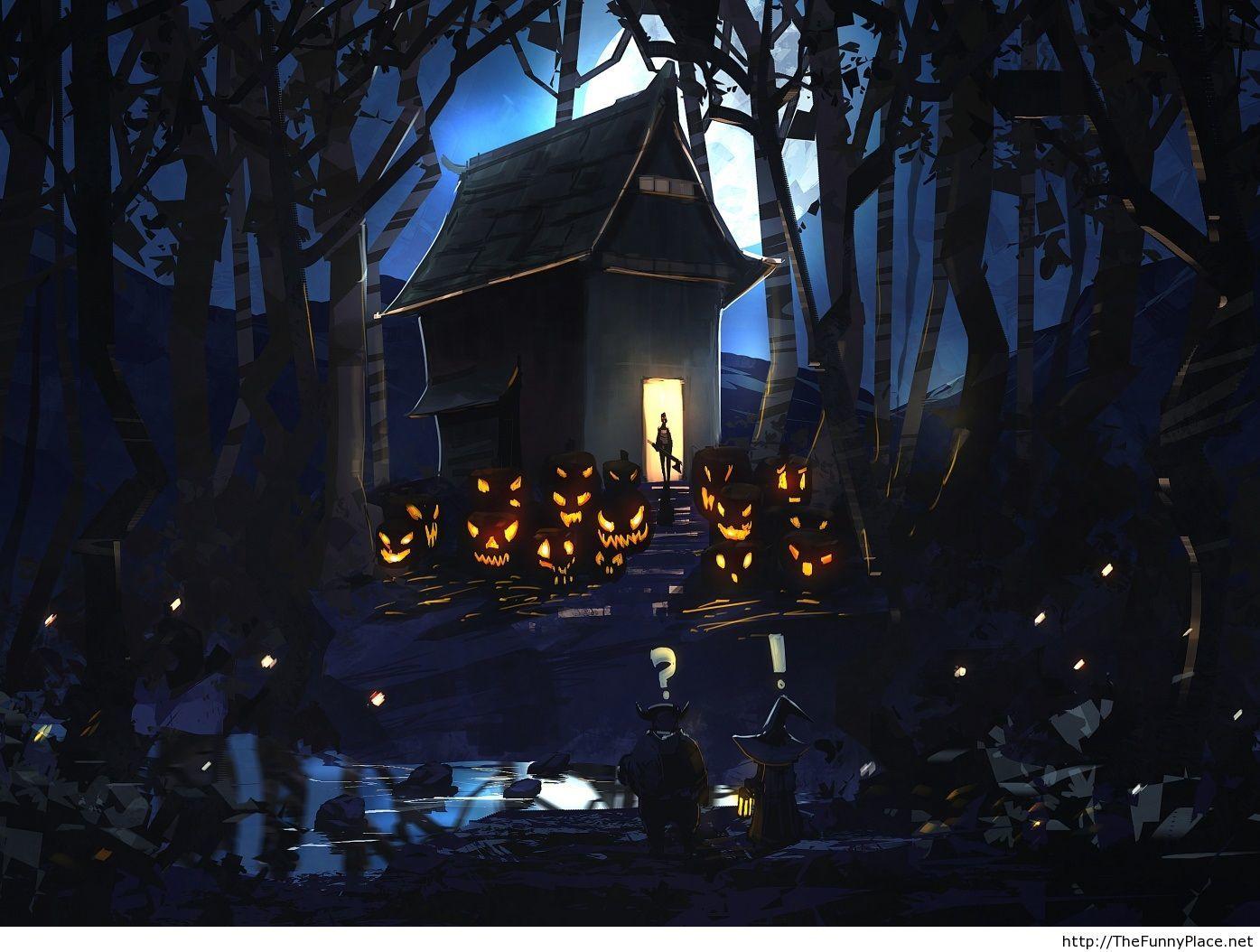 Halloween-Drawing-Wallpaper-2013