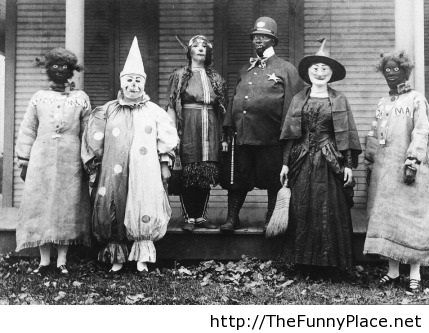 Halloween in 1925, funny picture!