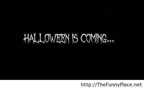 Halloween is coming wallpaper