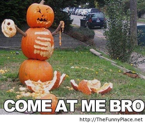 Halloween just got serious