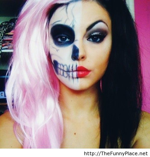 Halloween makeup idea for 2013