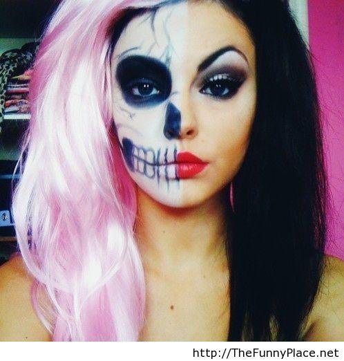 Halloween makeup idea for 2013