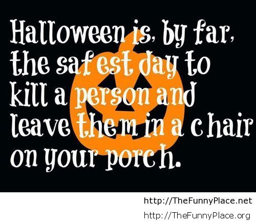 Lovely Halloween Quote With Wallpaper Funny