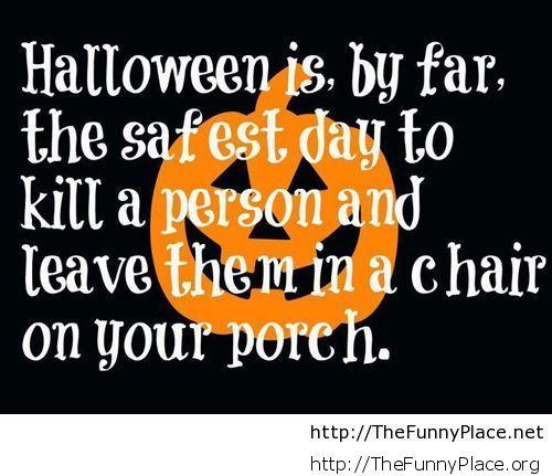 Halloween saying – TheFunnyPlace