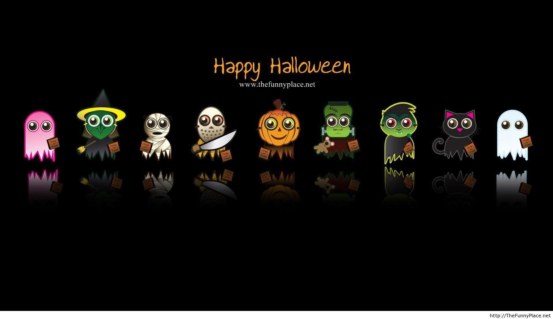 Happy Halloween HD wallpaper funny