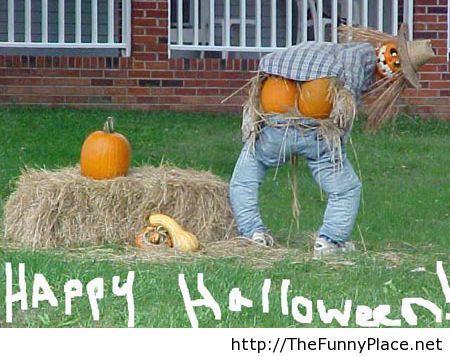 Happy Halloween funny picture pumpkins