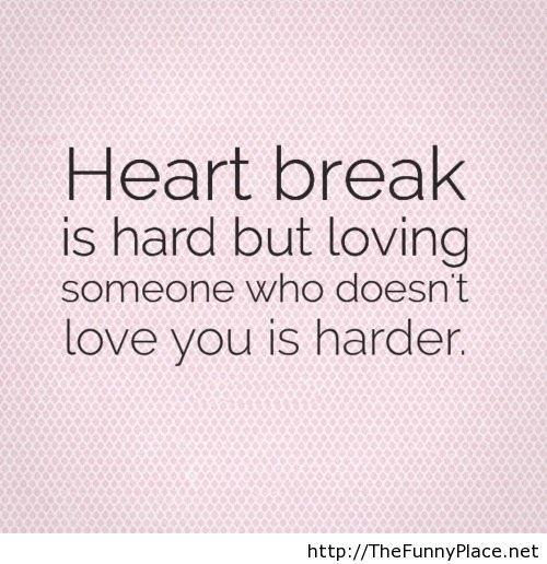 Heart break quote hidden message