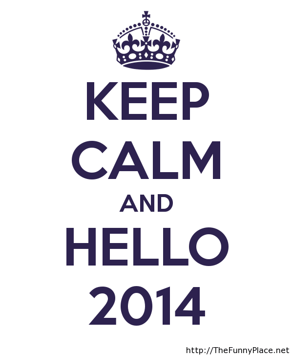 Hello 2014 wallpaper Funny