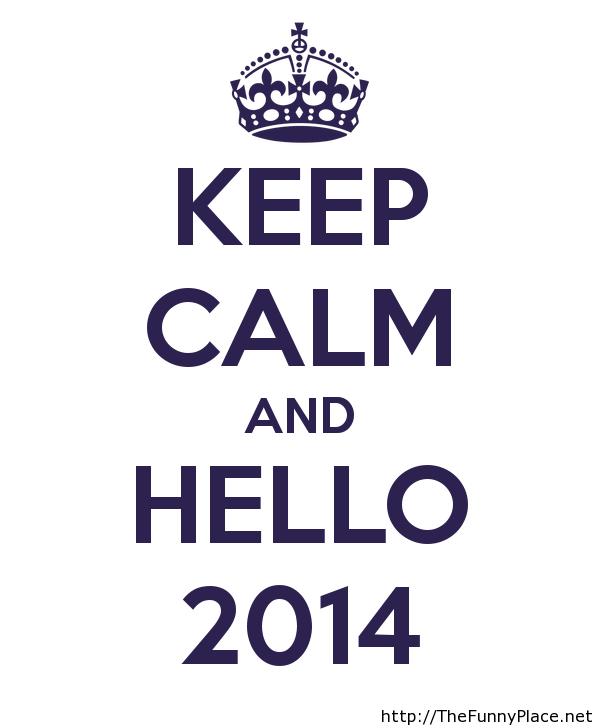 Hello 2014 wallpaper