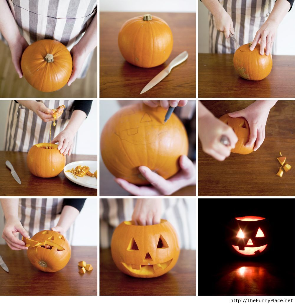 How to make a pumpkin for halloween 2013