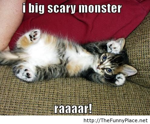 I big scary monster