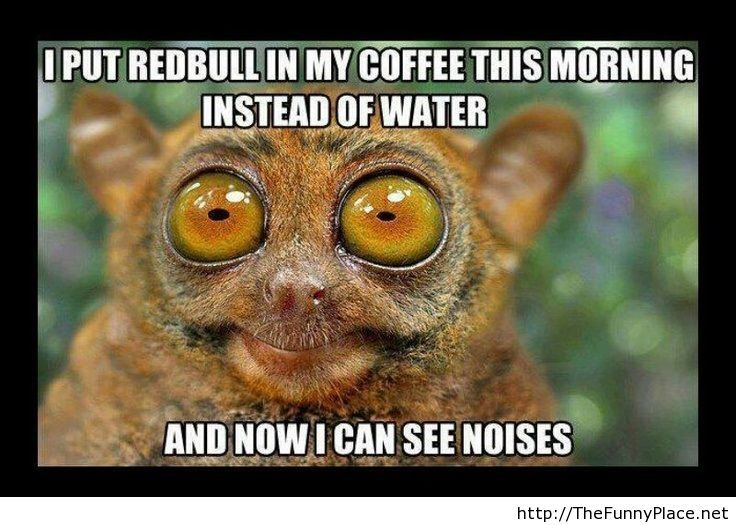 If you put redbull in coffee