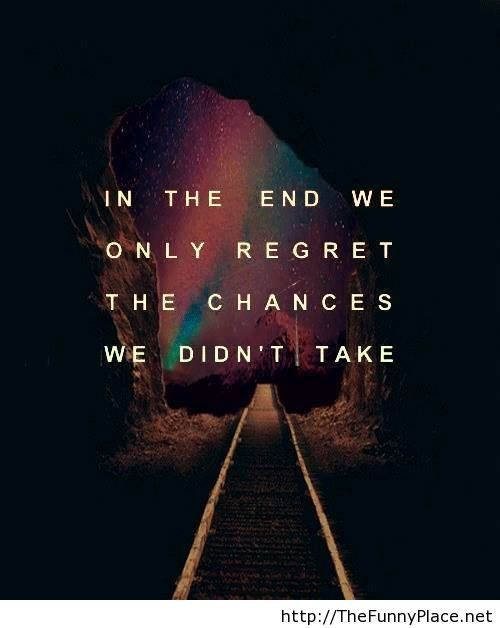 In the end quote with image