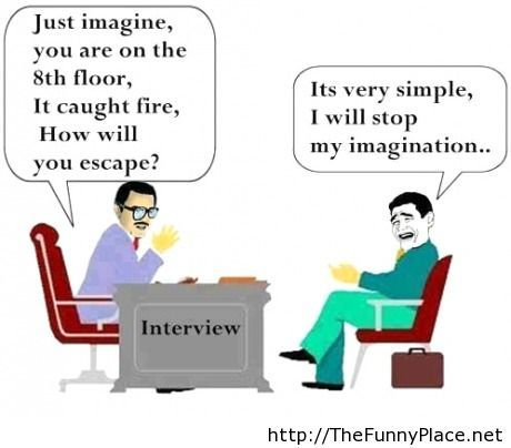 It is very simple, I will stop my imagination