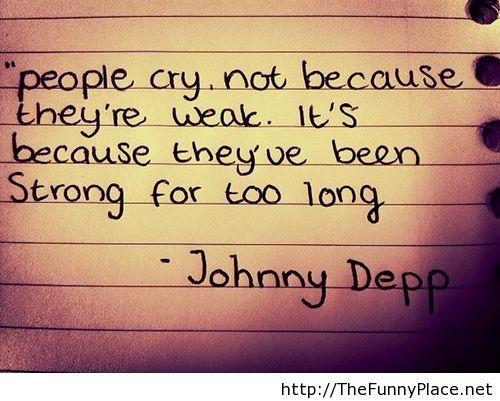 Johnny depp real words