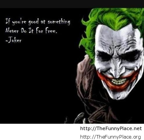 Joke quote with wallpaper
