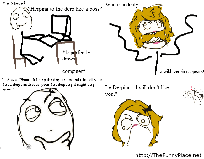 Funny Herp Derp Meme : Le derp fun thefunnyplace