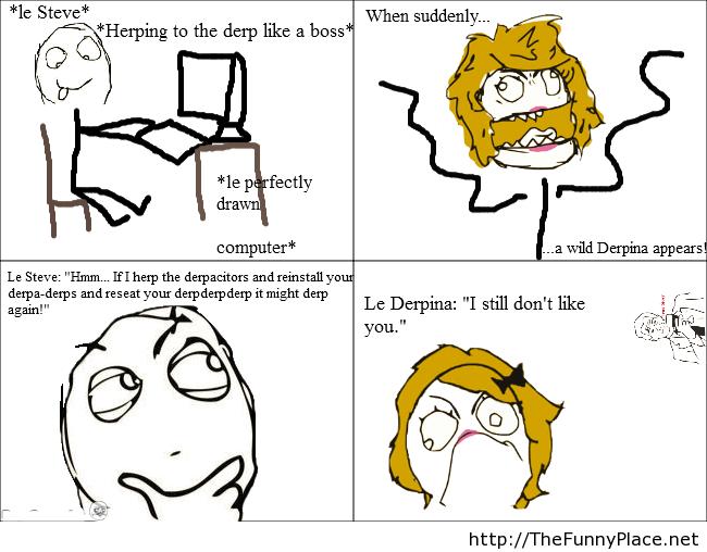 Le derp derpina
