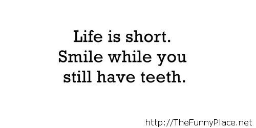 Life is short saying with wallpaper