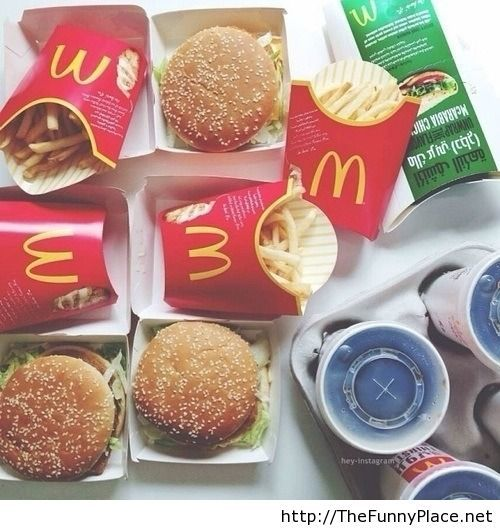Like for MC Donalds