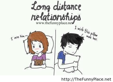 Long distance relationships situation