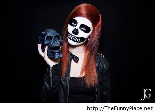 Makeup idea halloween 2013