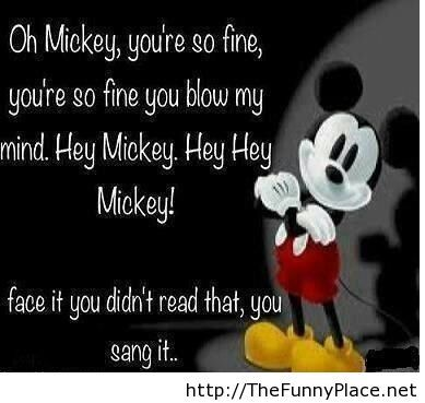 Mickey mouse funny quote best of
