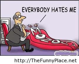 Monday comic everybody hates me