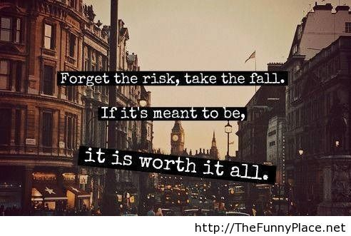 Motivational quote about risk in life