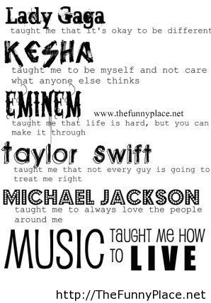 Best Music Quotes Inspiration Best Music Quotes TheFunnyPlace