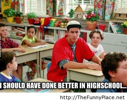 My feeling as an older student in college