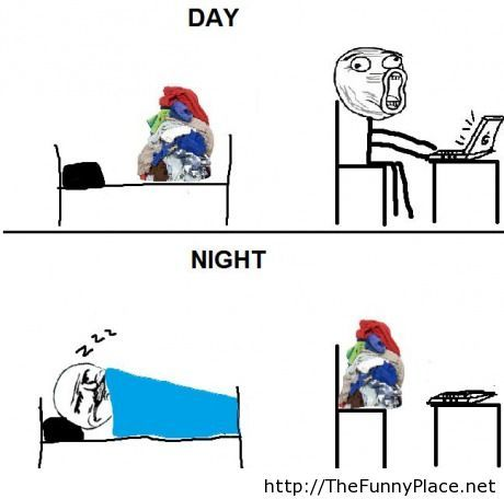 My life in a nutshell rage comic