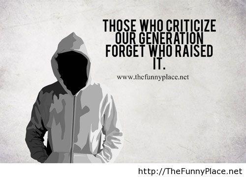 New generation quote