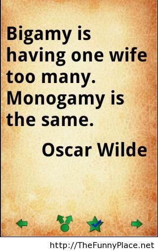 Oscar Wilde wise words