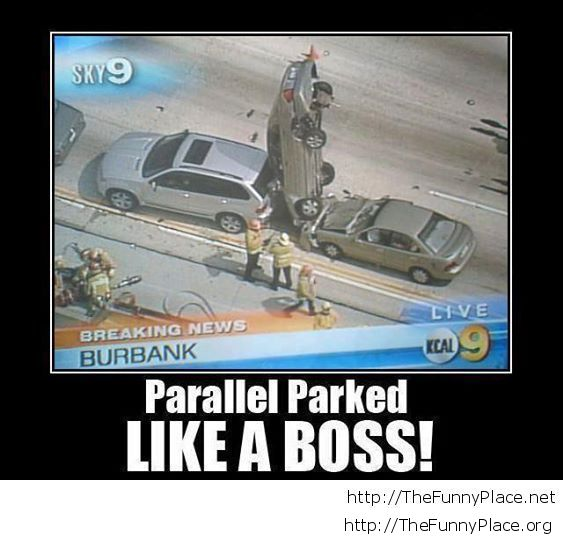 Parked like a boss
