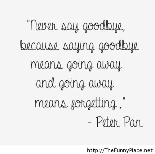 Peter Pan sayings