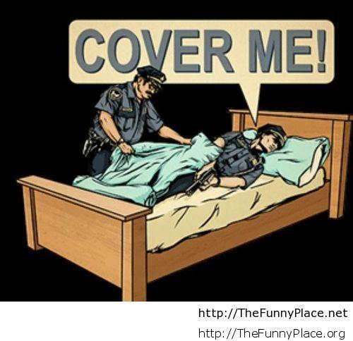 Police comic cover me