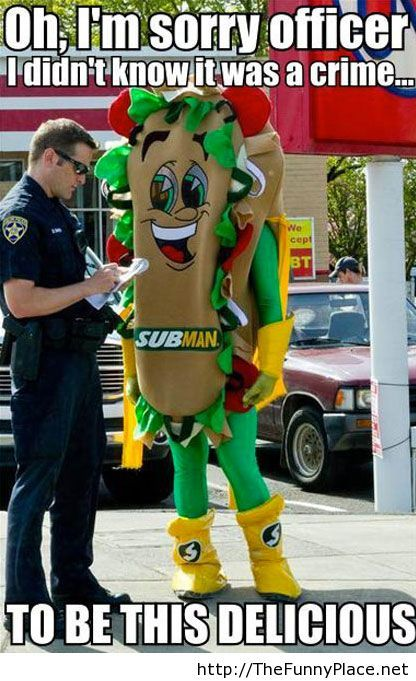 Police officer funny picture