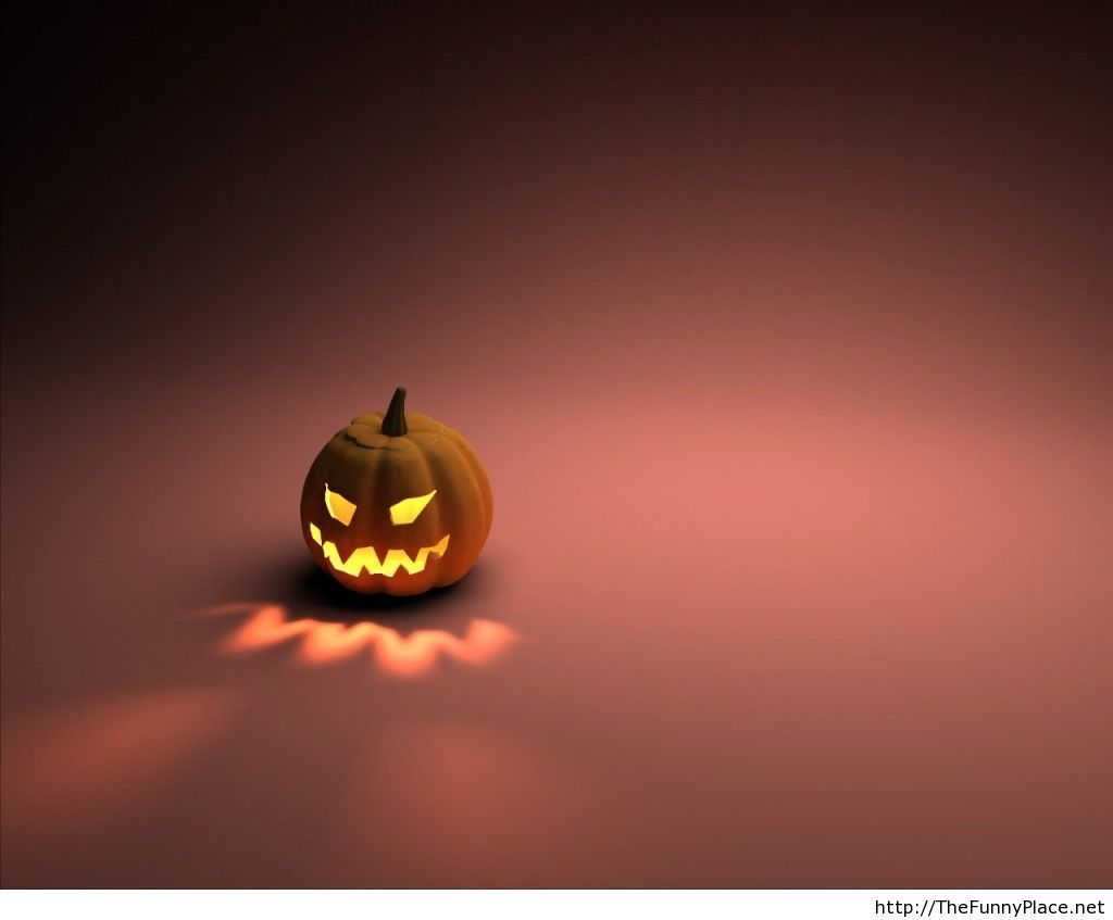 Pumpkin image wallpaper for halloween 2013