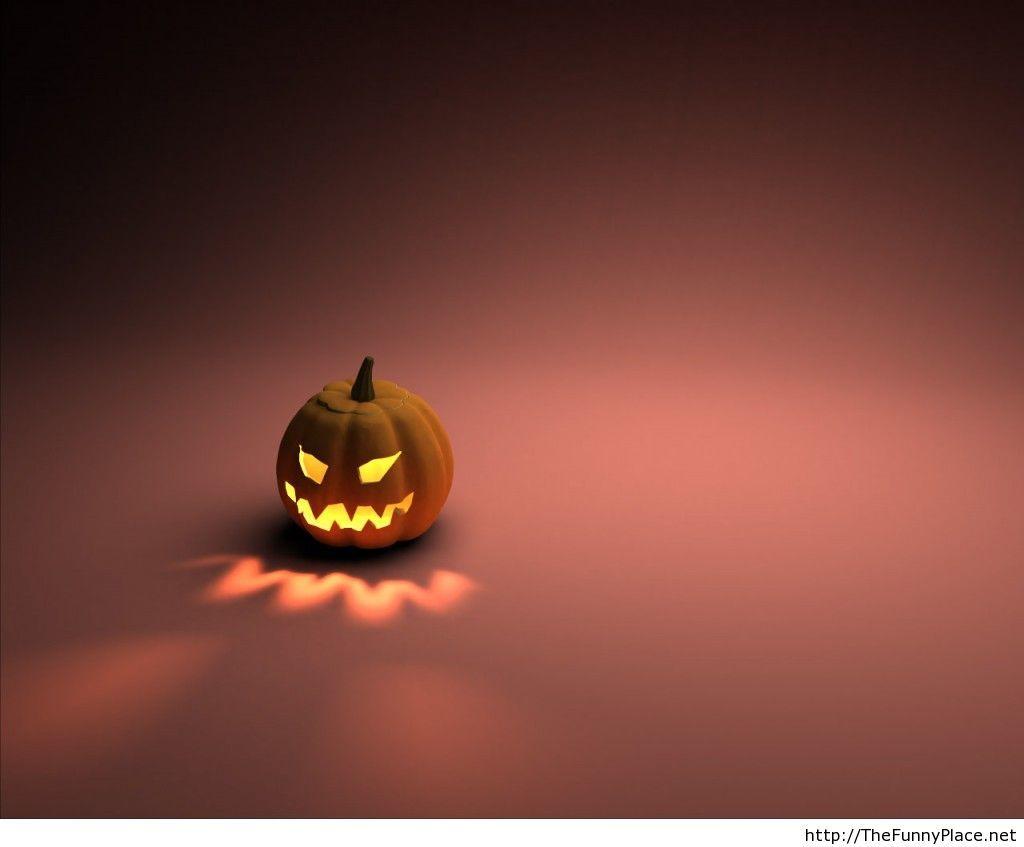 Pumpkin image wallpaper for halloween 2013