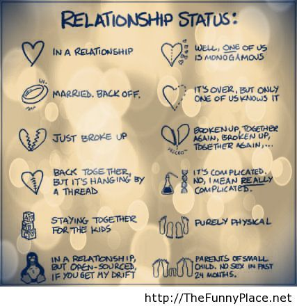 relationship status domics in real life