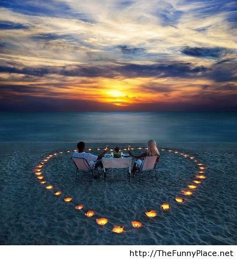 Romantic love picture