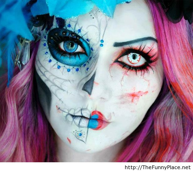 Scary halloween makeup 2013 – TheFunnyPlace